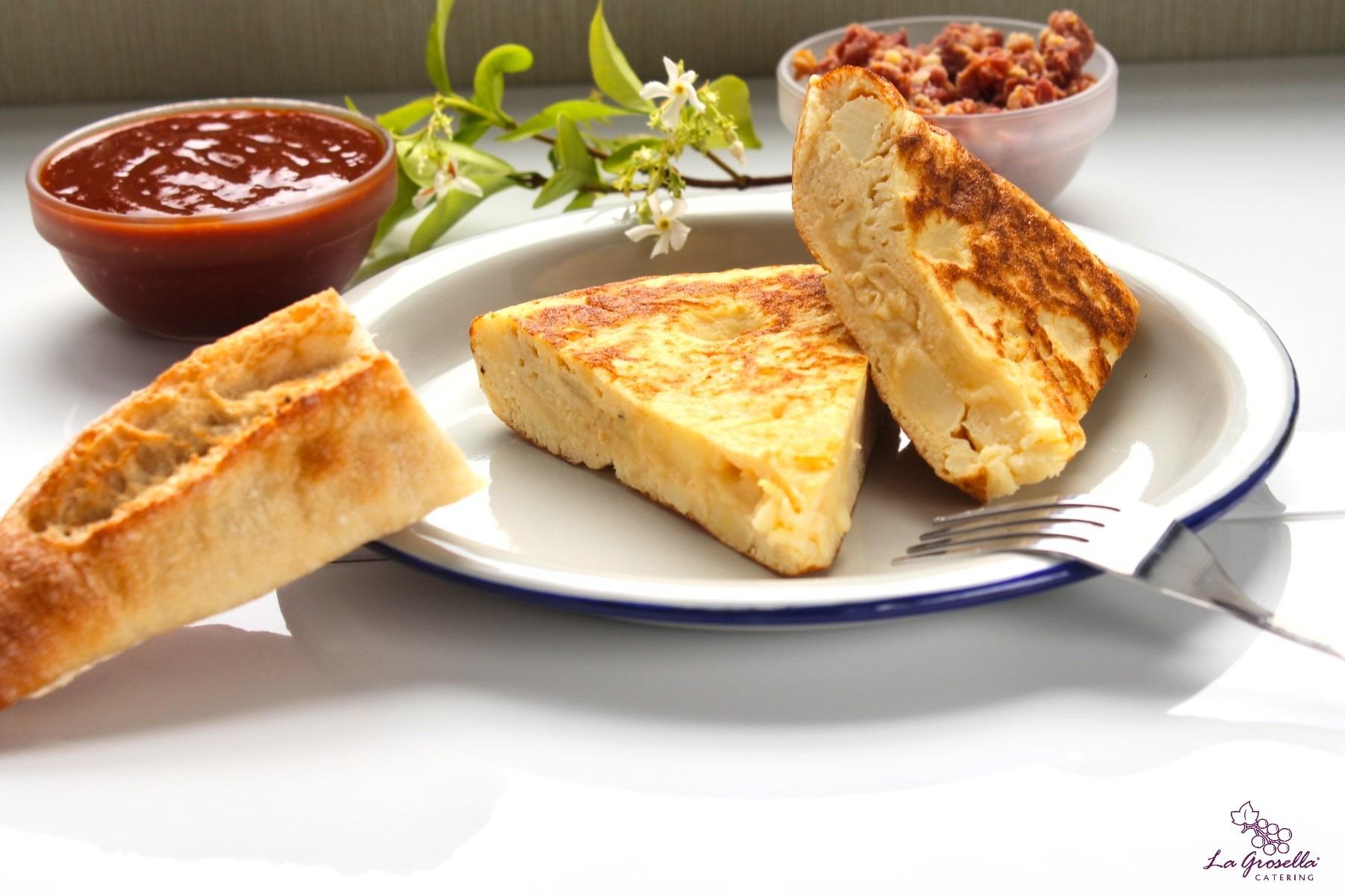 2 Pinchos de tortilla de patata