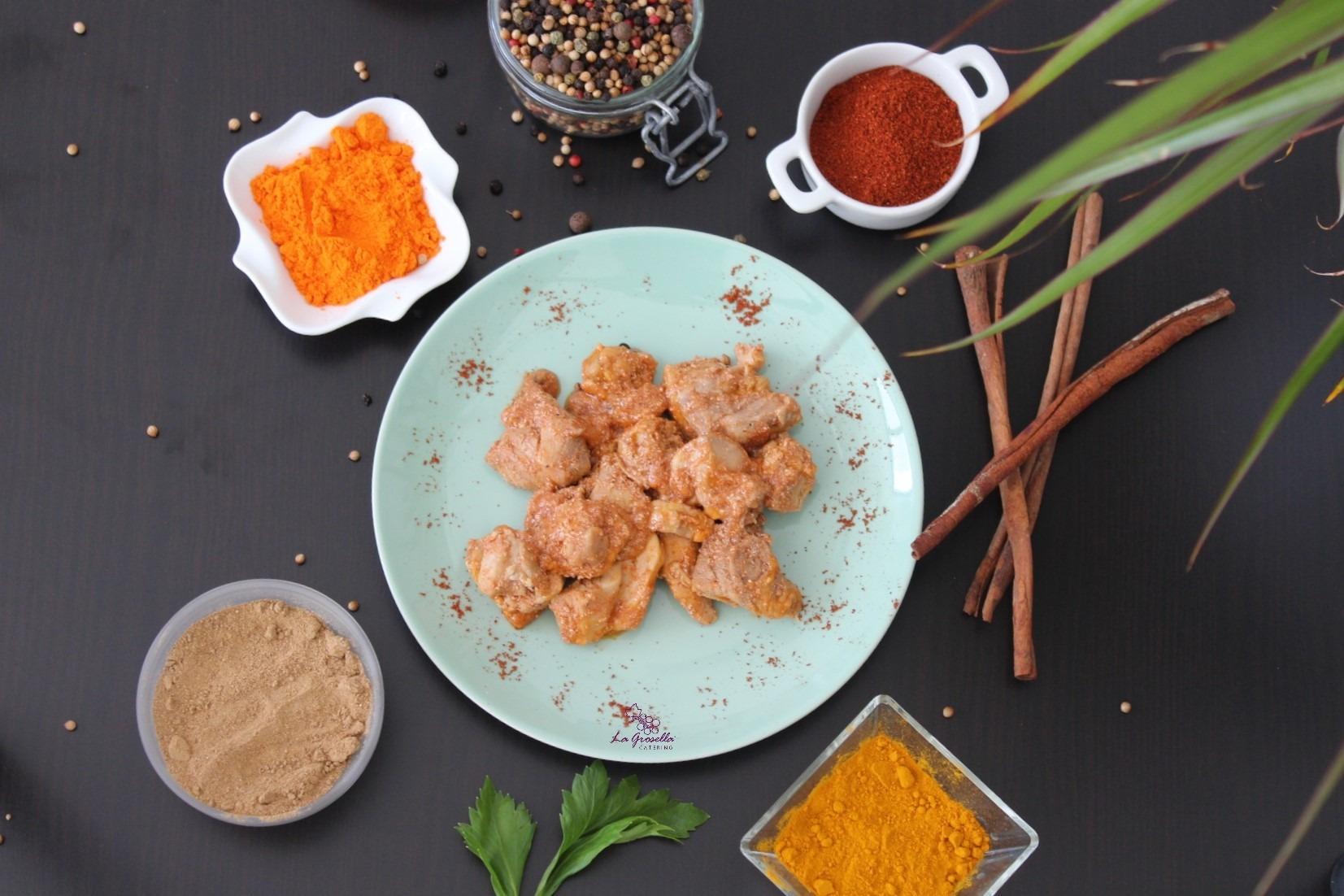Ragu de pollo al estilo Tandoori Masala