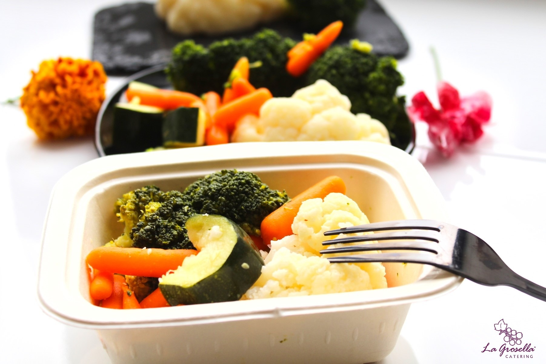 1 Kg. de verduras al vapor