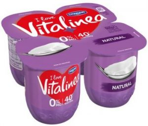 Yogur natural Vitalinea