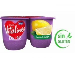 Yogur de limón Vitalinea
