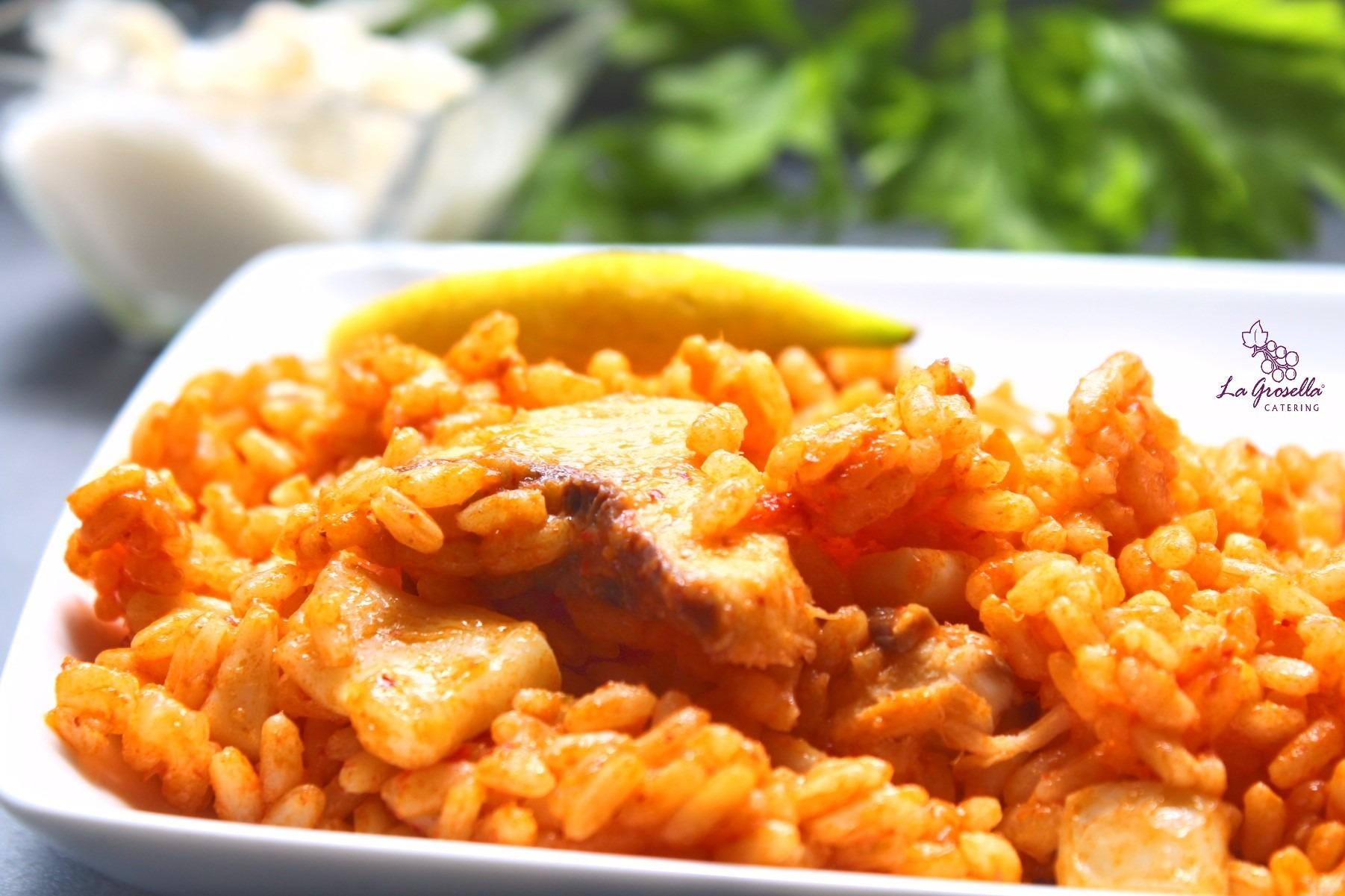 1 Kg de arroz a banda