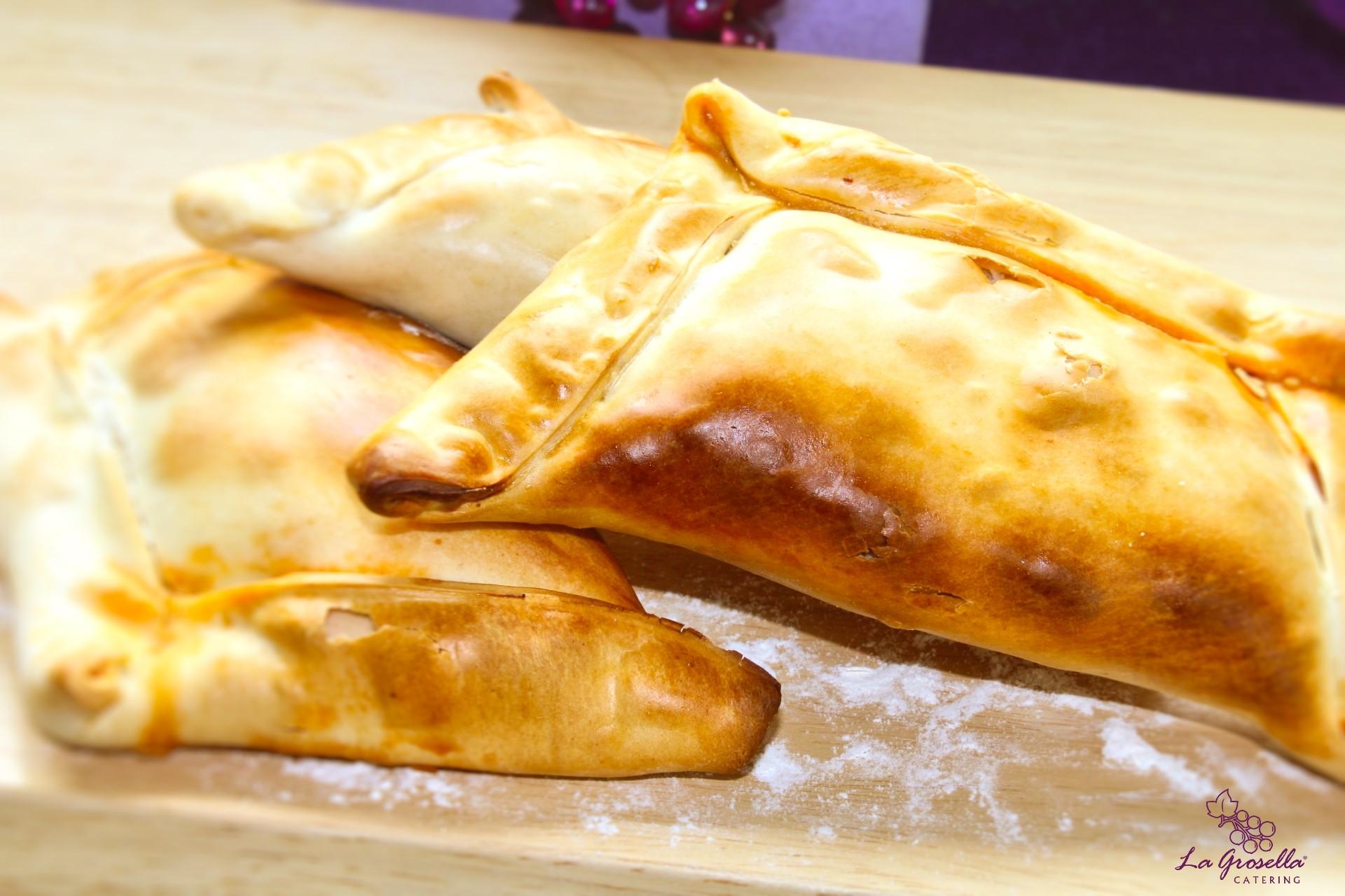 Empanada chilena de ternera