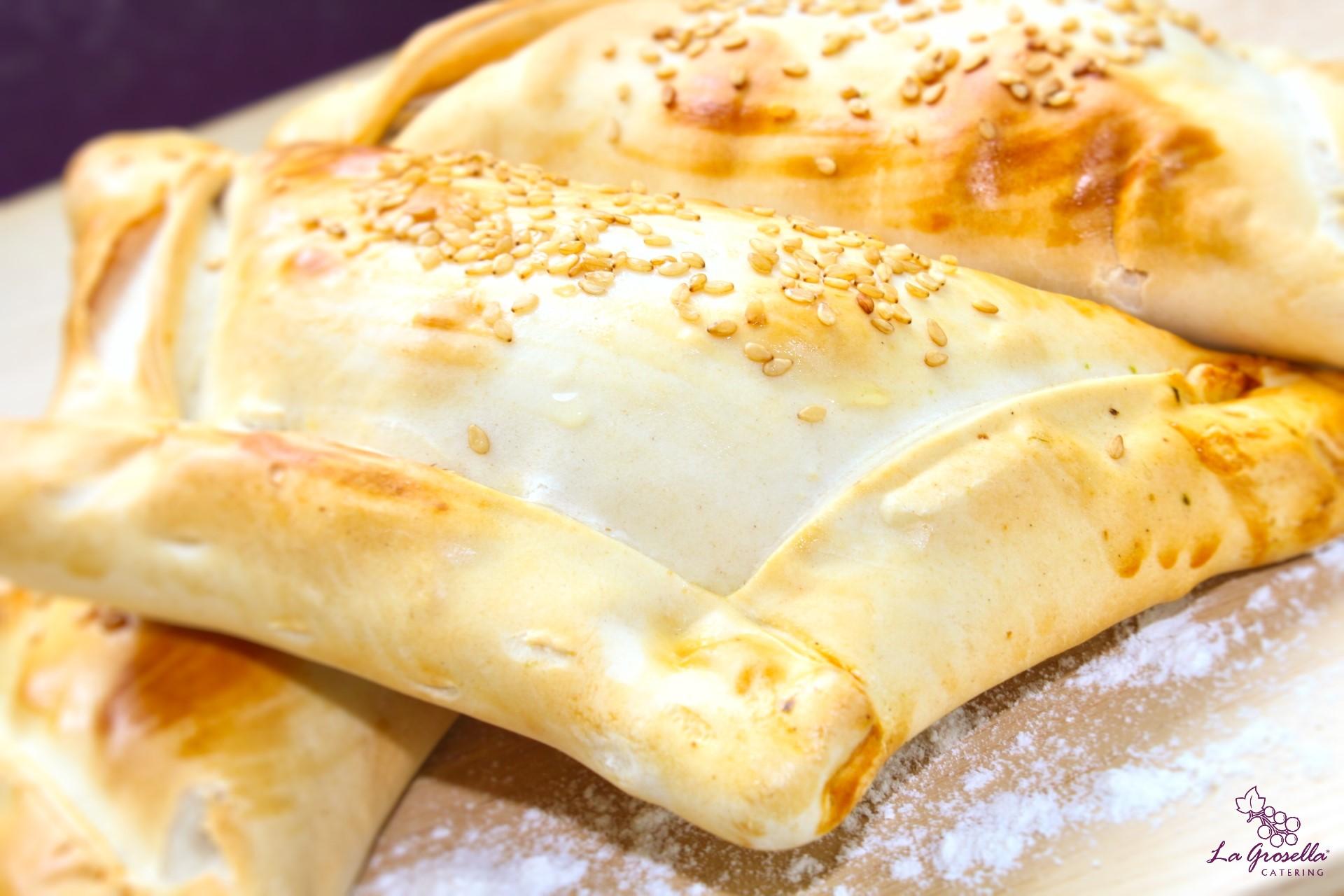 Empanada chilena de espinacas