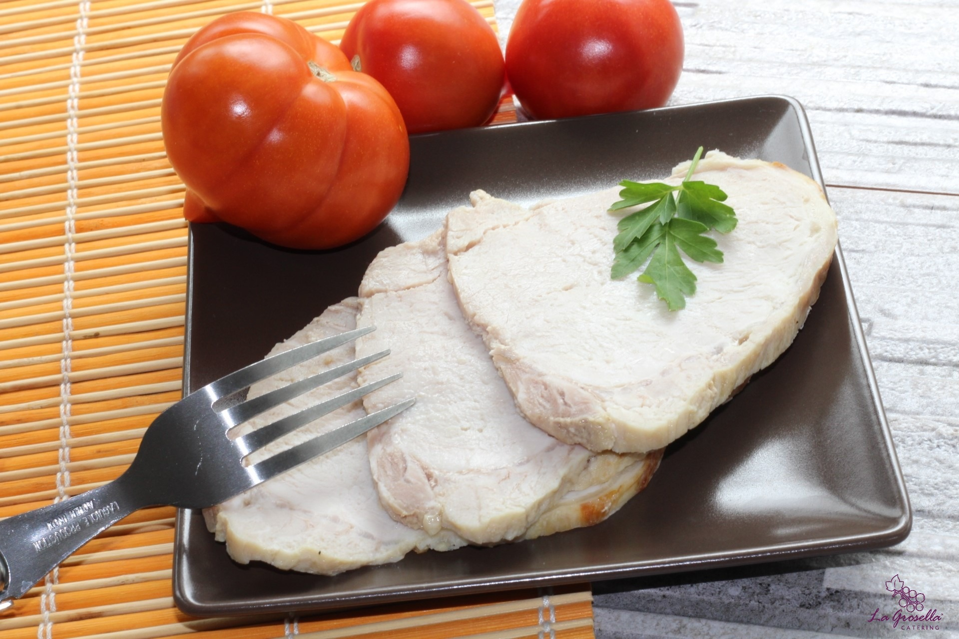 Lomo gallego de cerdo asado