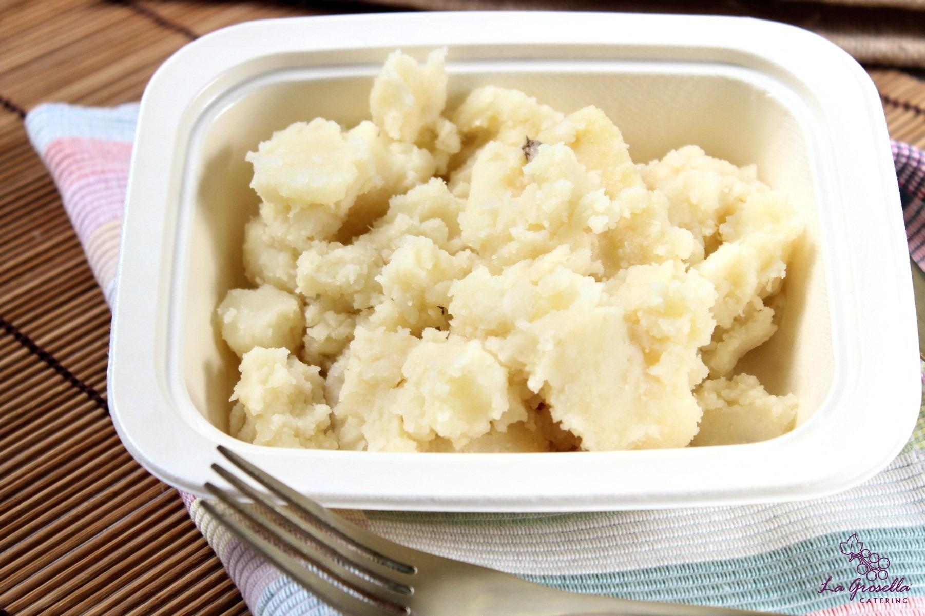 1 Kg. de patatas machacadas