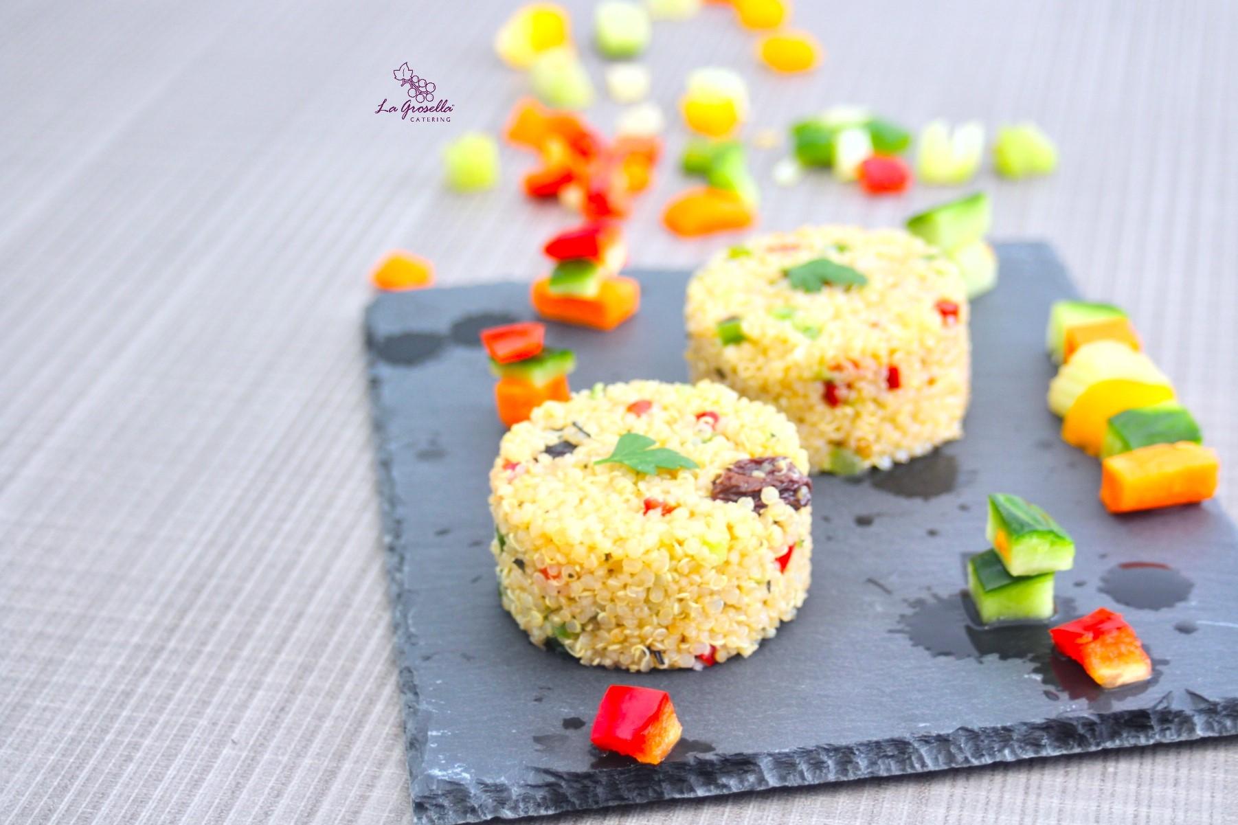 Tabulé de quinoa