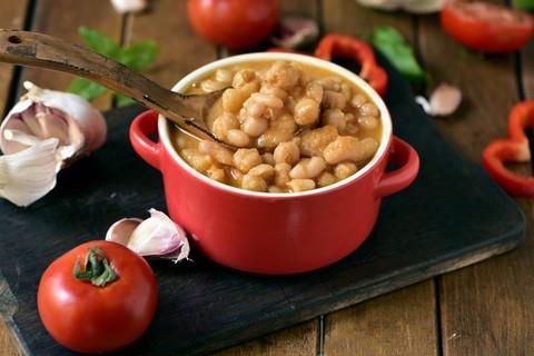 Sopa de garbanzos al curry