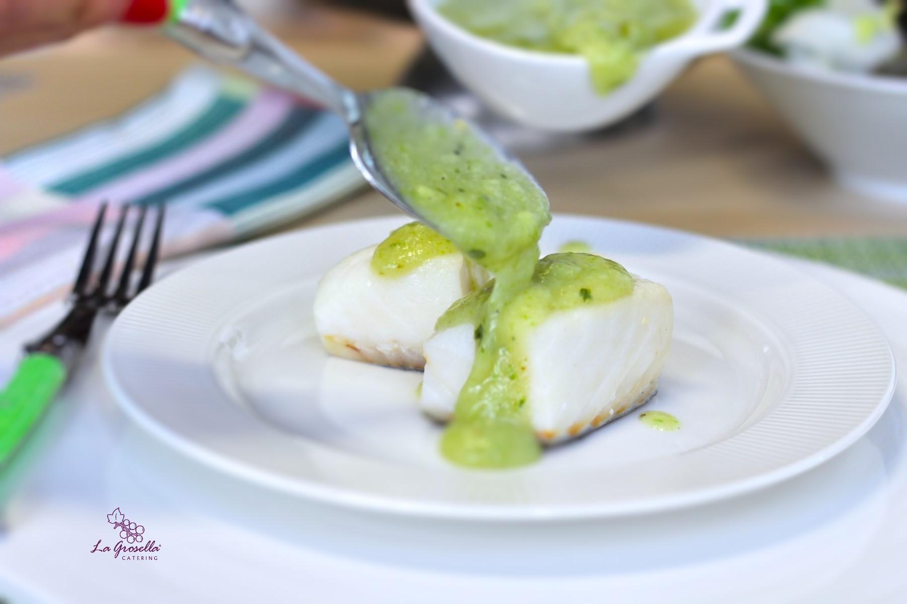Bacalao con salsa verde