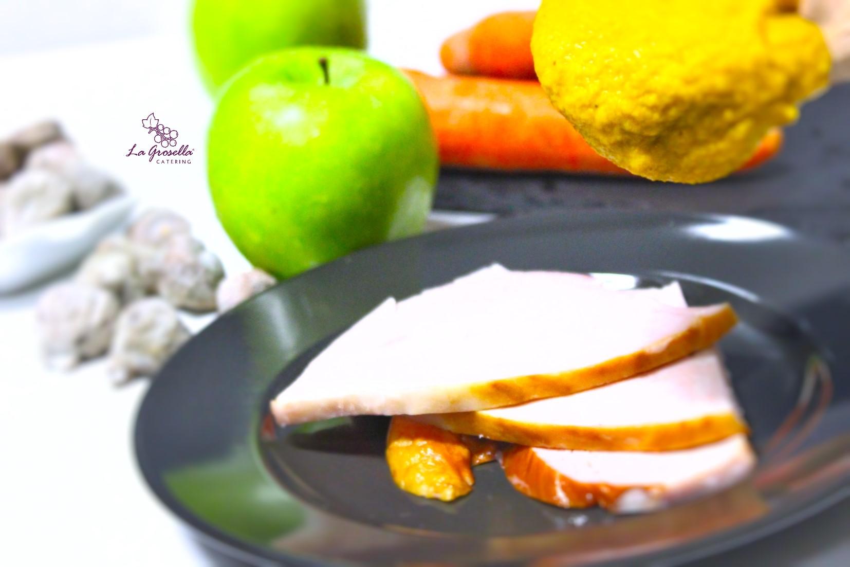 👉Sin salsa 👉 Pechuga de pavo asada