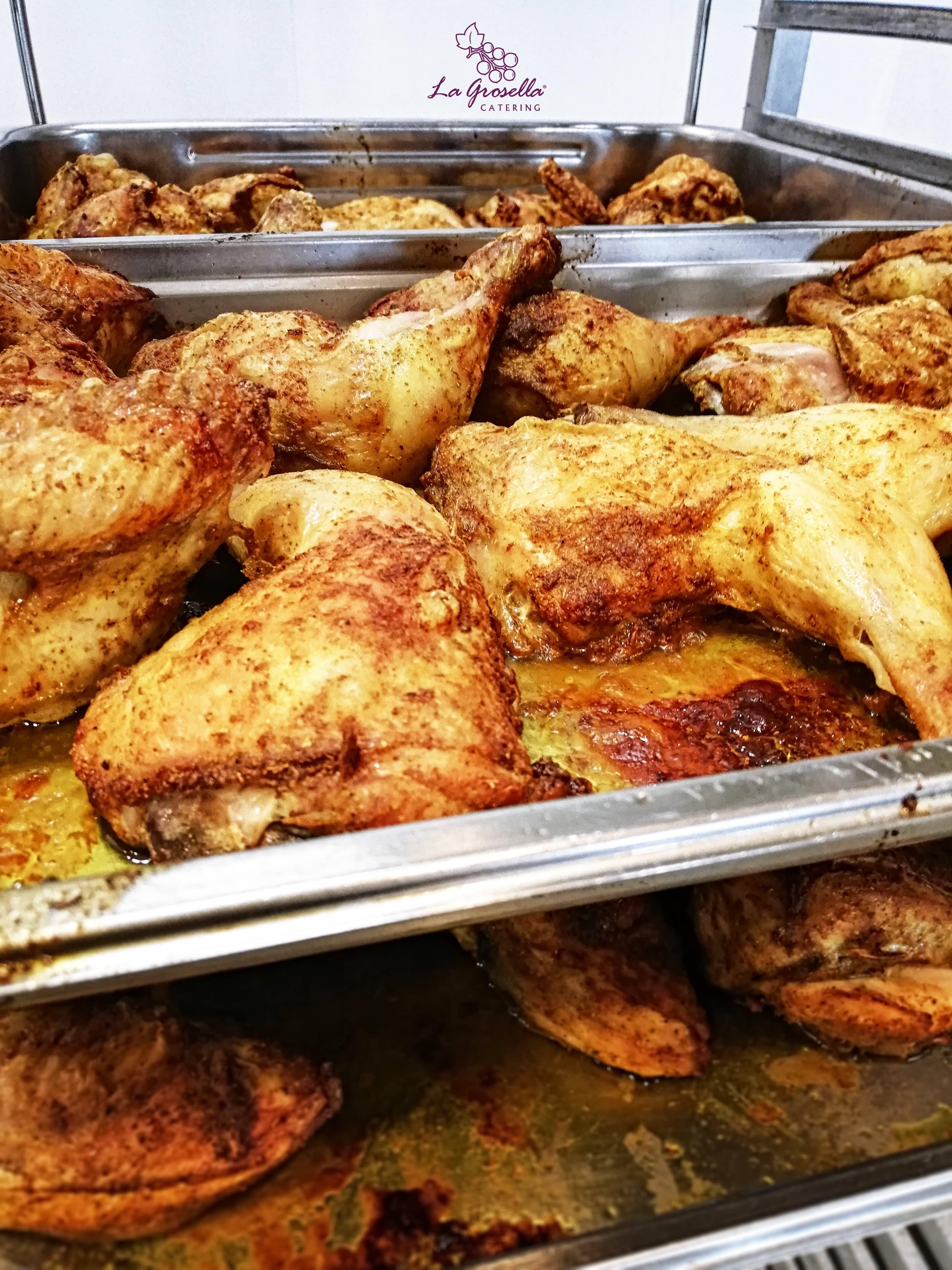 Pollo asado con especias Ras Hanout