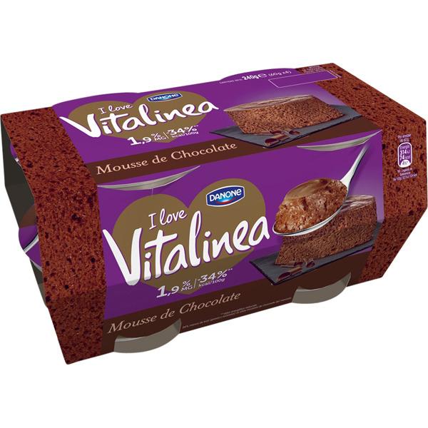 Mousse de chocolate Vitalinea